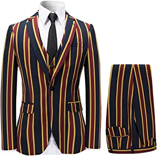Best red striped suit jacket Reviews