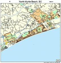 north myrtle beach street map