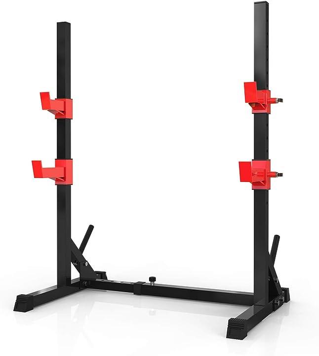 Squat rack 300kg di carico massimo bodybuilding sehrgo B08DJ1MR3V