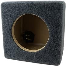 0.15 ft^3 Sealed MDF Sub Woofer Enclosure for Single JL Audio 6.5