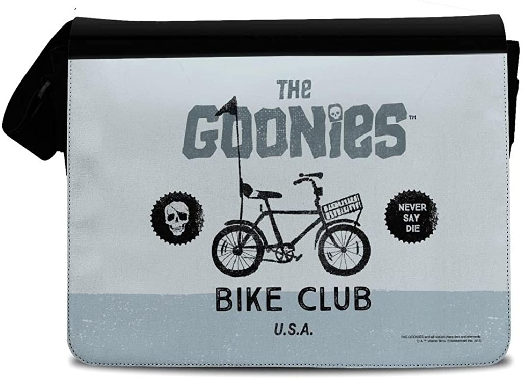 Officially Licenced Popular brand in the world The Goonies Bike Polyester Black Club OFFer Messen