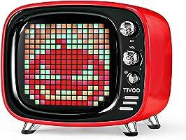 Divoom Tivoo Classic Retro Bluetooth-Lautsprecher mit 6 W Audio, programmierbarer LED-Bildschirm, gesteuert von der...