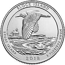 2018 D BU Block Island, Rhode Island National Park NP Quarter Choice Uncirculated US Mint