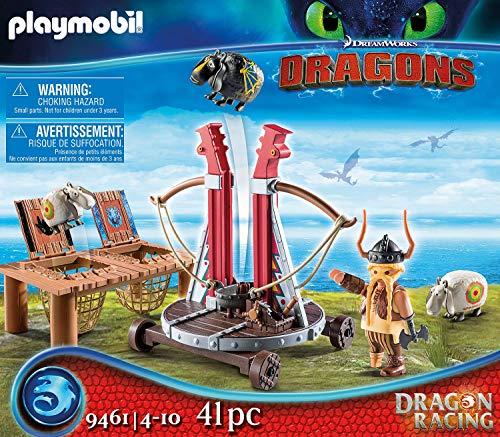 Bocón con lanzadera de ovejas Playmobil - Dragons (9461)