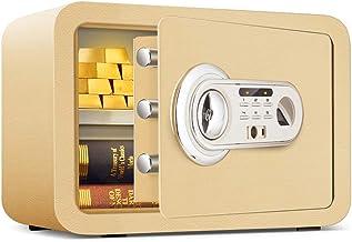 Small Mini Safe Fingerprint Fingerprint Password Anti-Theft Double Safe Deposit Box Can Be Put Into The Wall Bedside Wardr...