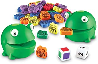 Learning Resources Froggy Feeding Fun Activity Set, Fine Motor Toy, 65 Piece, Ages 3+