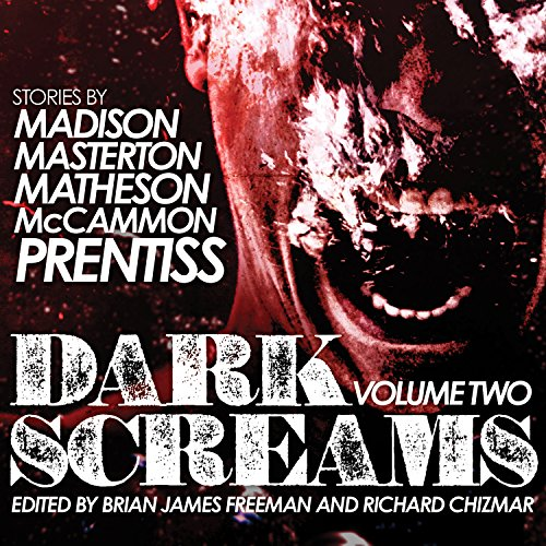 Dark Screams, Volume Two audiobook cover art