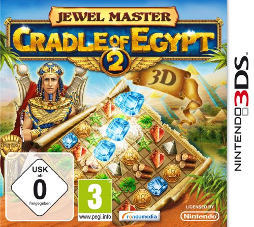 Jewel Master - Cradle of Egypt 2 3D [Importación alemana]