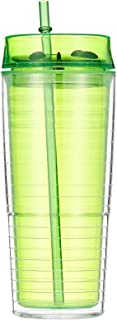Harmony 2724623307466 600Ml Bottle With Lid And Straw - Green