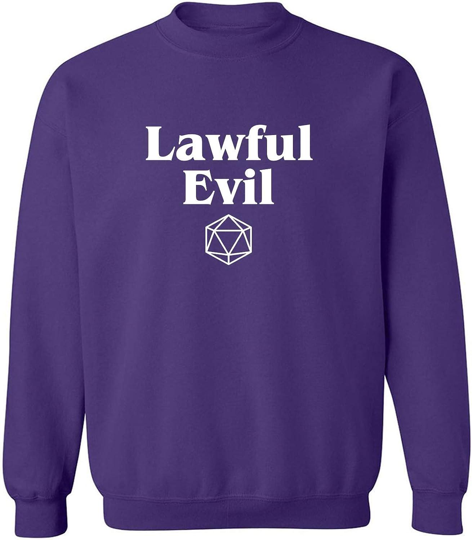 Lawful Evil Crewneck Sweatshirt