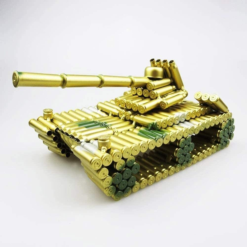 Creative Decoration Yellow Crafts Camouflage Colorado Springs Mall Shell Model Fees free Me Tank