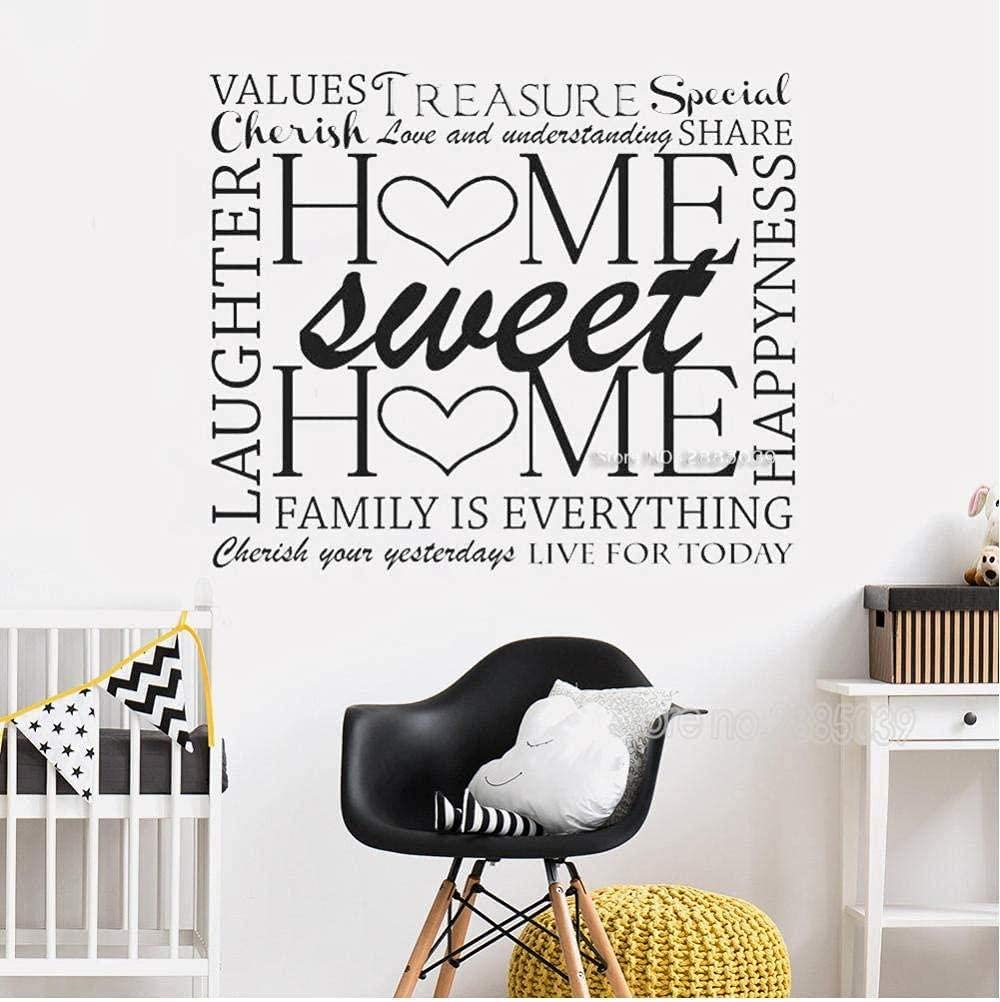 MAODU Classic Art Outstanding Wall Stickers Home Block Word Sweet Special price for a limited time