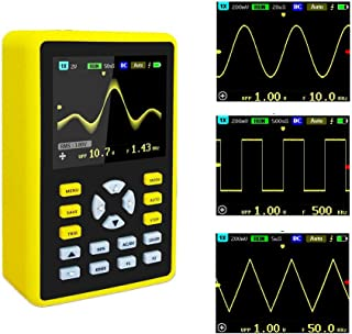 YEAPOOK Handheld Digital Mini Oscilloscope 5012h Portable Professional Oscilloscope Kit with 100mhz Bandwidth 500MS/s Sampling Rate 2.4'' TFT LCD Display