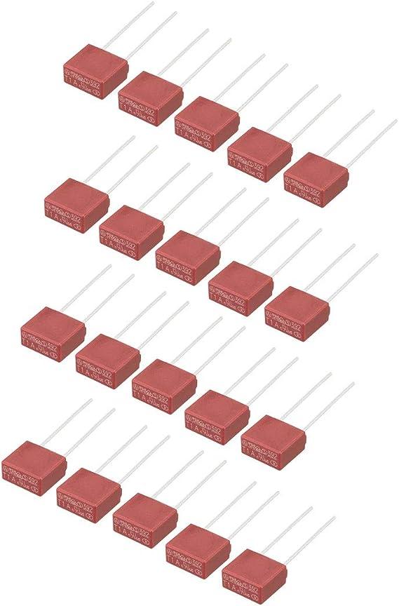 10Stück T6.3A 6.3A 250V TR5//5TR Miniatur Micro Träge Sicherung Feinsicherungen