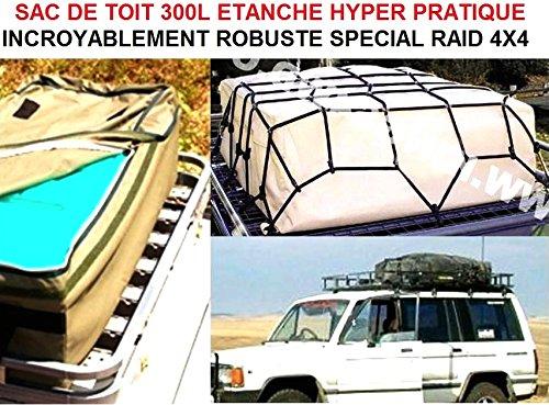 LCM2014 Genial Dachtasche Roof Bag 300 l Wasserdicht, sehr robust. Bringen Sie alles Bazar Bien RANGÉ auf das Dach! Raid Preparation 4 x 4 Donaldson Topspin Snorkel