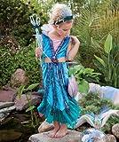 BUYSEASONS Mermaid Halloween Costume - Child Size Medium 8