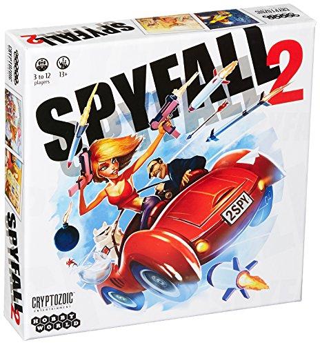 Unbekannt Cryptozoic Entertainment CRY02128 Brettspiel Spyfall 2