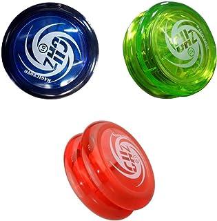 D1スピンボール ヨーヨーボール ストリング ベアリング 子供 おもちゃ 贈り物 3個入