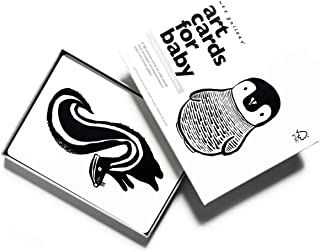 Wee Gallery, Art Cards for Baby, High Contrast, 0–12 Months - Black and White Collection