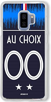 ab5d28d409d50 MYCASEFC Coque Samsung Personnalisable Equipe DE France 2 Etoiles Silicone  (Samsung Galaxy A6 2018)