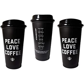 Starbucks Reusable Cup To Go Travel Coffee Tea Tumbler 16 Oz (Pack of 3)