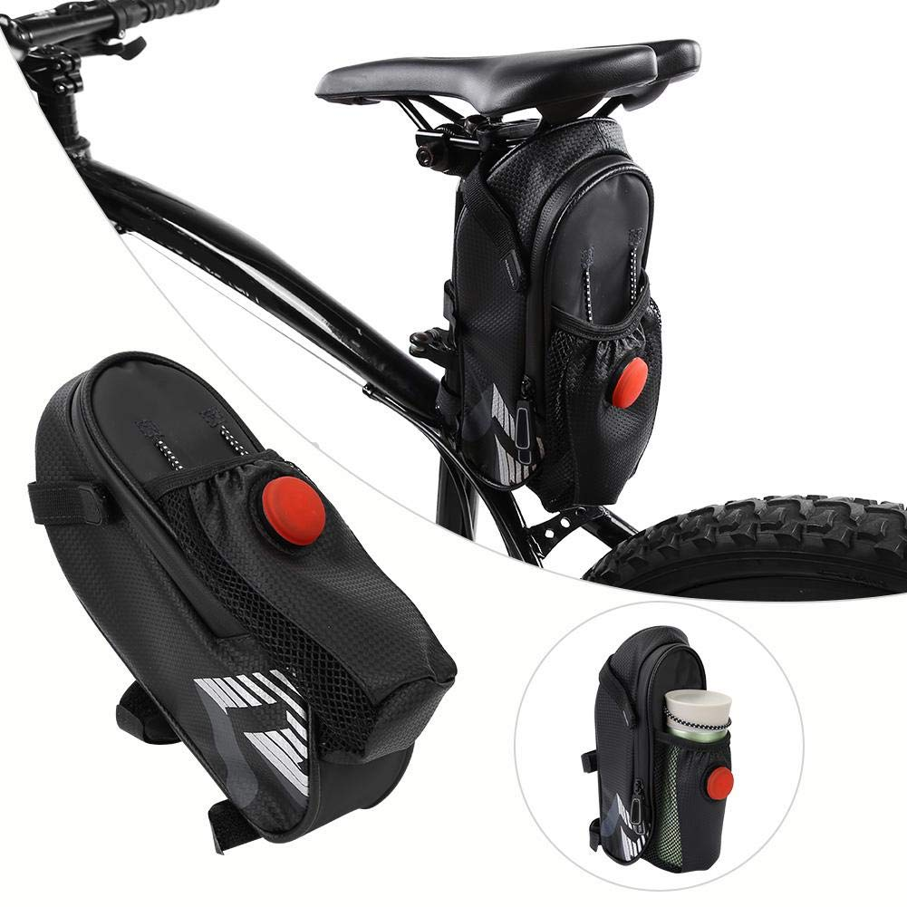 VGEBY Bolsa de sill/ín de Bicicleta Bolsa de sill/ín de Bicicleta de Exterior Bolsa de sill/ín de Bicicleta Bolsa Impermeable con Bolsa Trasera Extra Luminosa