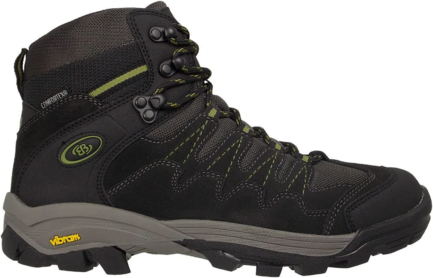 BRüTTING Men's - Outdoorboots BLIZZARD S 221097 - Grey, 10 UK