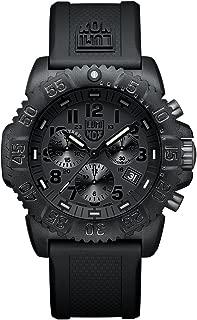 Navy SEAL Colormark Chronograph XS.3081.BO.1 Reloj de Plásticolsera Cuarzo Hombre correa de Plástico Negro