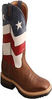 Mens Lite Cowboy Taupe/Brown Workboot (MLCA002)