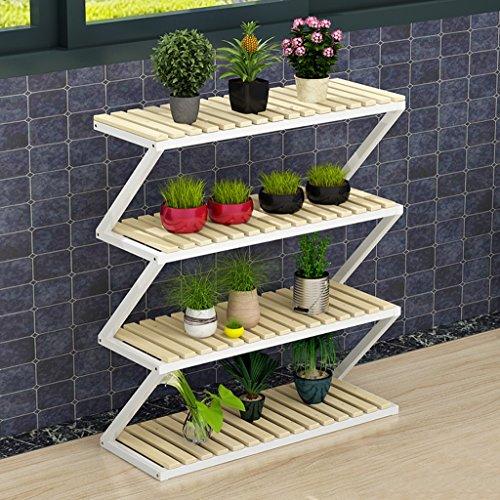 Balcon Style de plancher Cadre de fleurs Intérieur Ensemble de salon Ensemble (taille : 4 layers)