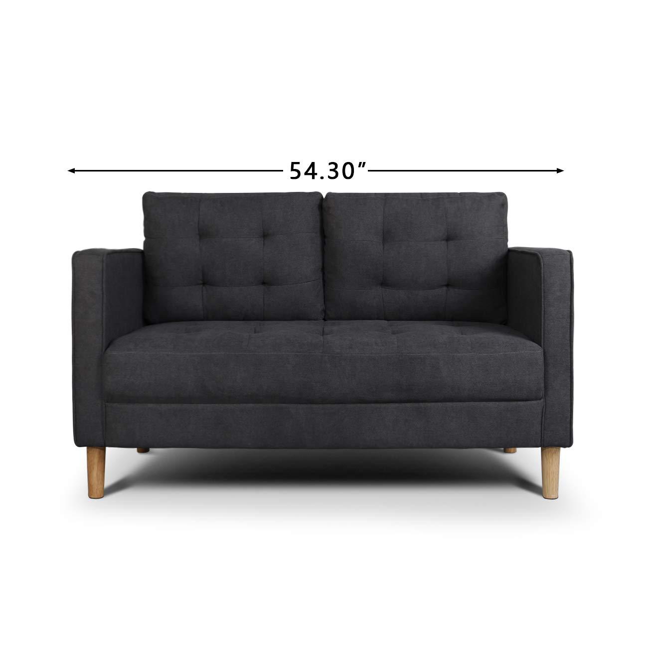 AODAILIHB Modern Cushion Loveseat Configurable