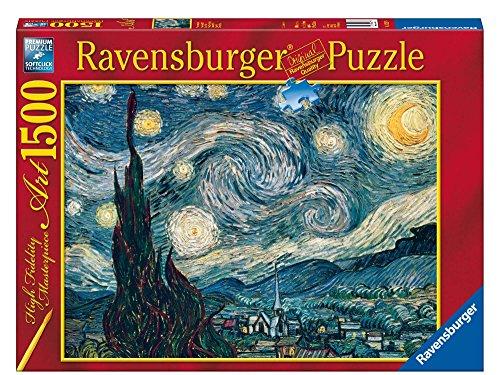 Ravensburger- Notte Stellata di Van Gogh Puzzle da Adulti, Multicolore, 1500 Pezzi, 16207