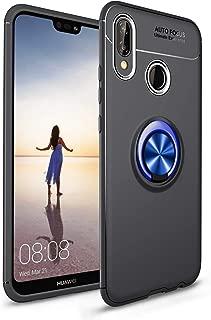 Huawei P20 Lite シェル/カバー/緩衝器/皮膚/クッション, Moonmini フォンケース 携帯電話ケース 携帯電話ケース ホルスター の Huawei P20 Lite - Blue + Black