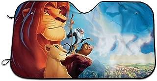 GTENTN Lion King Car Windshield Sun Shades Universal Fit 51.2