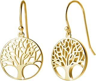 Best gold tree earrings Reviews