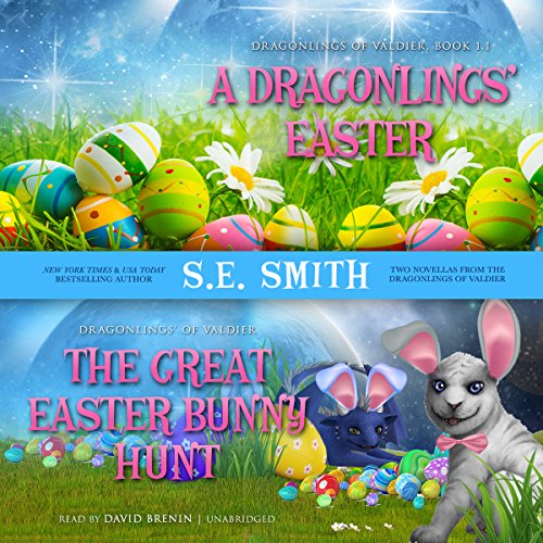 A Dragonling's Easter and The Great Easter Bunny Hunt audiobook cover art