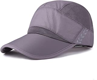 Quick Dry Baseball Cap Visor Hat Breathable Unstructured Sport Hats