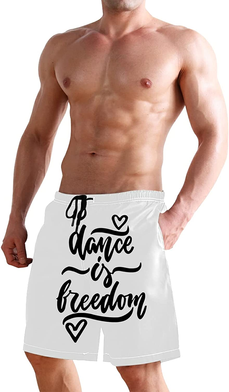 jarenap Mens Slim Fit Quick Dry Swim Shorts,Swim Trunks Mens Bathing Suits with Mesh Lining