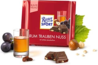 Ritter Sport Rum Raisin Nuts 100g (12-pack) by Ritter Sport Rum Raisin Nuts 100g (12-pack)