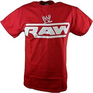 WWE Monday Night Raw Mens Red T-Shirt