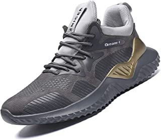 Gxrxqs Men's Tennis Shoes Mesh Breathable Sports Running Shoes