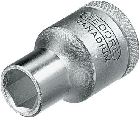 21 mm Schl/üsselweite GEDORE 19 21 Steckschl/üsseleinsatz 1//2 Zoll Sechskant Stecknuss mit optimaler Kraft/übertragung f/ür den Steckschl/üssel