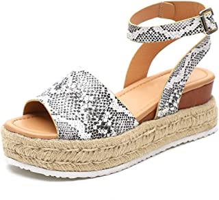 Chuhee Womens Platform Sandals