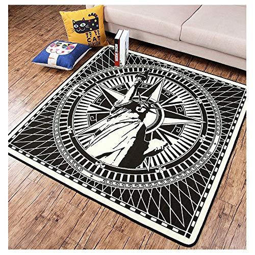 Home Grote tapijtmatten Home Slaapkamer slijtvast en duurzaam Volledige woonkamer salontafel anti-slip matten (afmetingen: 120 * 120cm)