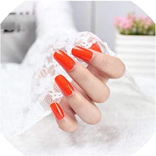 Nail art sticker pure candy color full size nail stickers 3D manicure grey black red nail polish DIY self adhesive strip,5294