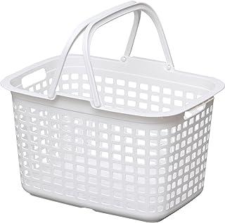 アイリスオーヤマ バスケット ランドリー ピュアホワイト LB-M