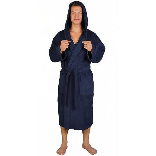 Arus Men s Classic Hooded Bathrobe Turkish Cotton Terry Cloth Robe bf54d2774