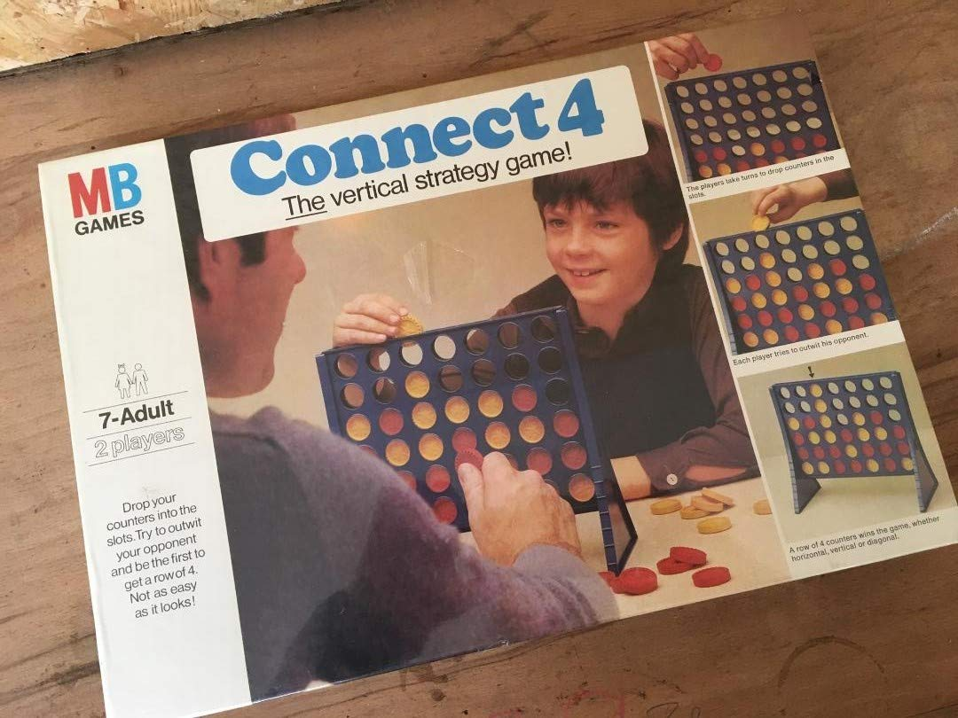 Connect 4 - The Vertical Strategy Game (MB Games Original Edition) by Milton Bradley: Amazon.es: Juguetes y juegos