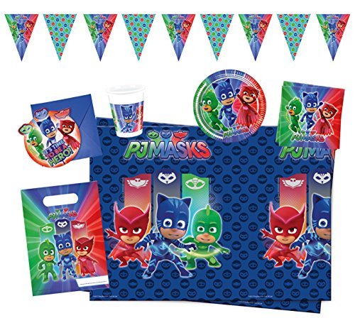 Procos 10117003figuras and charactere Party Set PJ Máscaras