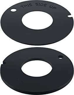 2 Pieces 385311462 RV Toilet Rubber Seal Toilet Flush Ball Seal for Dometic Sealand Mansfield VacuFlush RV Camper Toilet, Compatible with 2010, 510/506+, 510+/1006,1008/EcoVac 146-149
